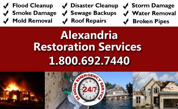 alexandria LA restoration services