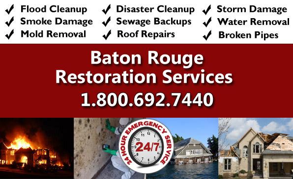 baton rouge LA restoration services