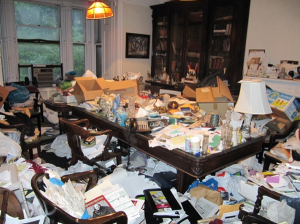 clutter in home hoarding cleanup louisiana